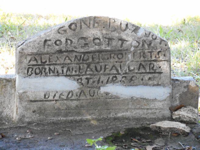 gone but not forgotten headstone