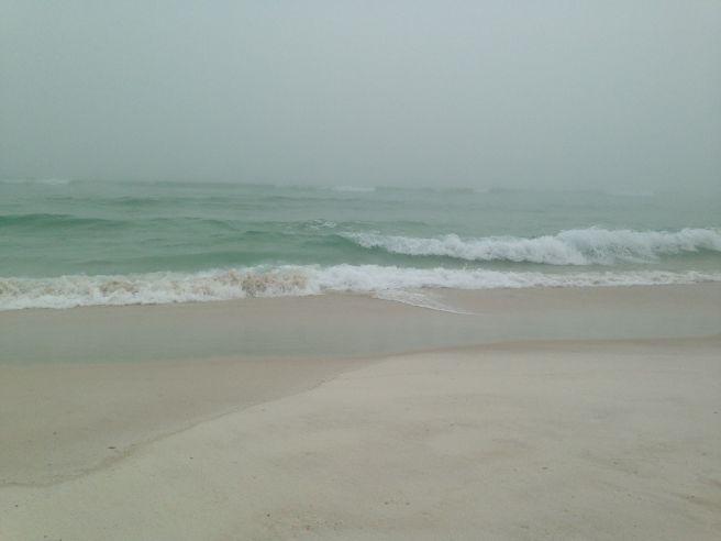Pensacola beach - fog